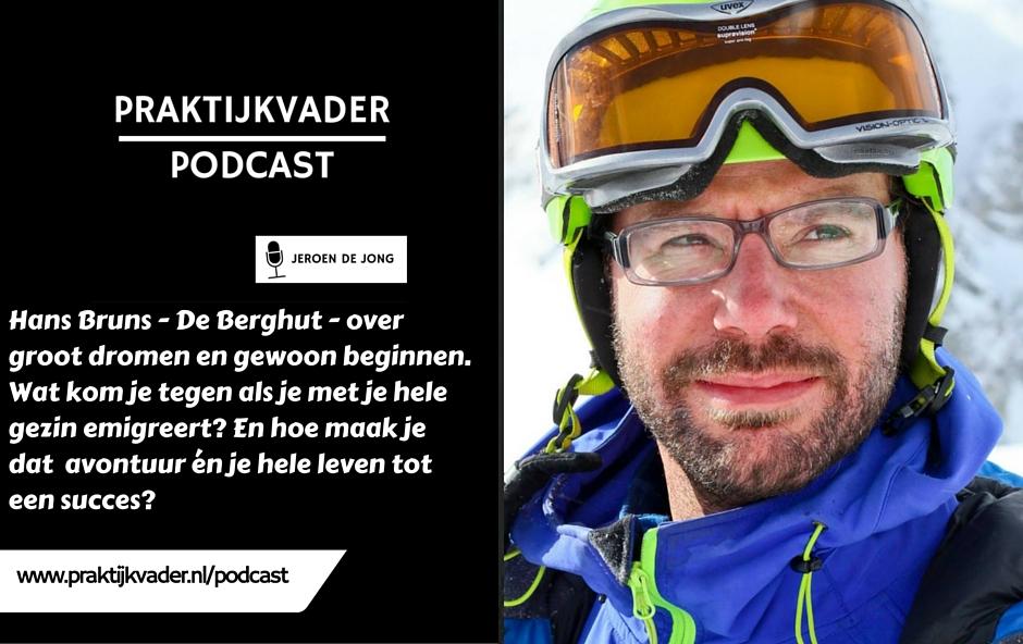 praktijkvader hans bruns berghut interview podcast jeroen de jong