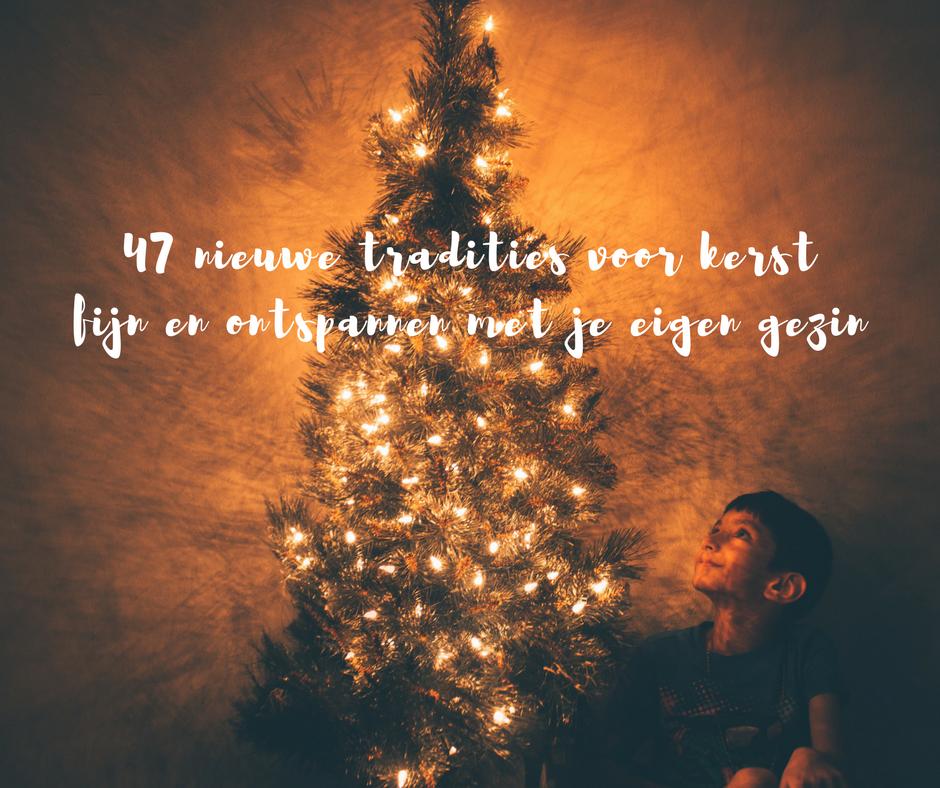 traditie kerst kinderen gezin praktijkvader