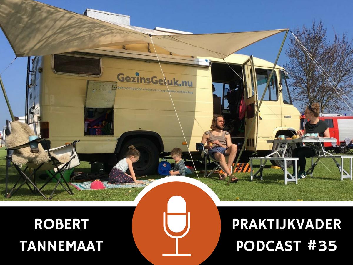 praktijkvader podcast robert tannemaat jeroen de jong gezinsgeluk