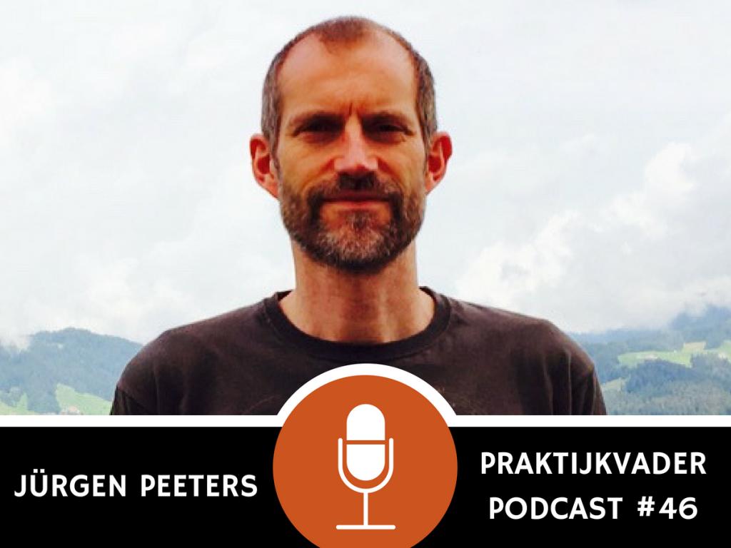 praktijkvader podcast jurgen peeters interview jeroen de jong kinderen zijn geen puppy's puppies